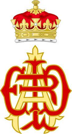 Royal Monogram of Prince Alfred as Duke of Edinburgh