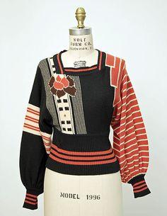1972 sweater by John Ashpool
