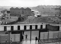Spectators arrive at The Valley home of Charlton Athletic for a game in 1956 Charlton London, Old Pictures, Old Photos, Charlton Athletic Fc, British Football, Football Stadiums, Aston Villa, Old London, Local History