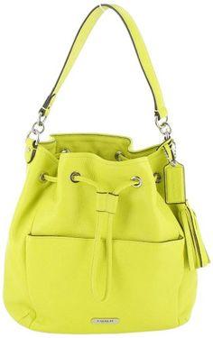 Coach Avery Women's Bucket Bag Leather Handbag