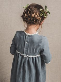 Cotton Frocks For Kids, Girls Dresses, Flower Girl Dresses, Toddler Hair, Party Hairstyles, Cute Outfits For Kids, Harajuku Fashion, Doll Clothes Patterns, Types Of Fashion Styles