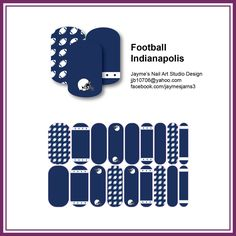 """""""Football - Indianapolis"""" for all the Colts fans"""