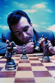 Business strategy related to chess.