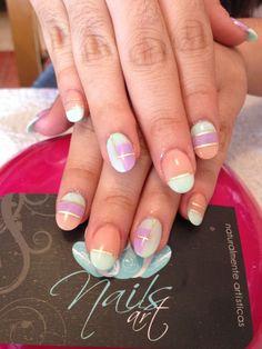 #nails art #acrylic nails #summer nails ---->follow stephany medina