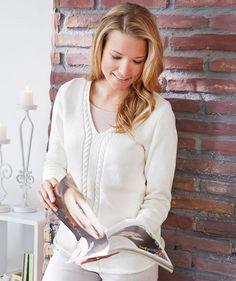 Damenpulli von Monat Februar, S9401 - Anleitungen   Schachenmayr.com