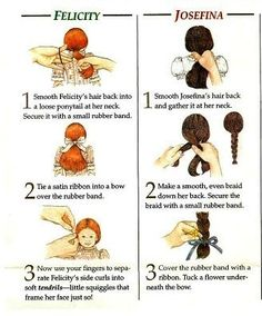Living A Doll's Life-Original Historical Hair Styles