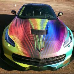Rainbow Corvette C7