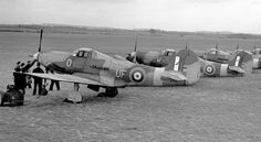 Bell Airacobra Mk I of No. 601 Squadron RAF based at Duxford, Cambridgeshire,1941.