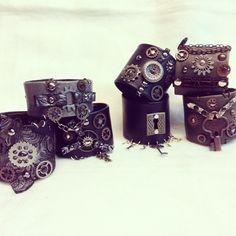 #evileve #unique #handmade #leather #steampunk #fashion #unisex #braclet #bangle #cuff #artigiano in fiera milano italy Steampunk, Unisex, Bane, Milano, Leather Bags, Fasion, Instagram Posts, Handmade, Accessories