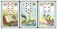 Lenormand-rozklad ze tří karet, a budete překvapeni, co všechno se z něj dozvíme – Kartářka Svatava Tarot, Playing Cards, Tarot Decks, Playing Card, Tarot Cards