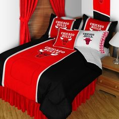 Chicago Bulls Basketball Bedding