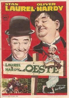 Programa de Cine - Laurel y Hardy en el Oeste (2)