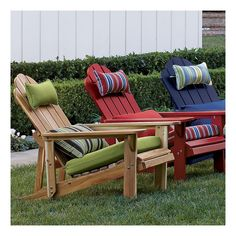 how to make adirondack chair pads