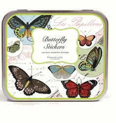 100+ Butterfly Stickers By Cavallini & Co.