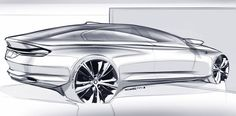 I noticed the LED rear line which connects the two rear lights in many design concepts and even a consumer cars like Chrysler & Dodge.