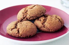 These chocolate biscuits are healthier than the regular kind, making them great for after-school snacking.