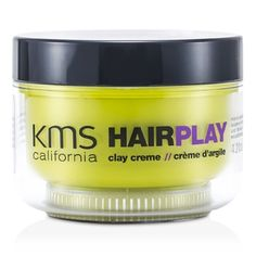 KMS California Hair Play Clay Creme (Matte Sculpting & Texture)  125ml/4.2oz