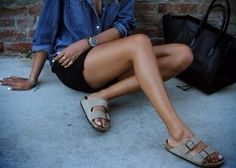 Sincerely Jules x birkenstock Looks Style, Style Me, Summer Outfits, Cute Outfits, Summer Clothes, Emmanuelle Alt, Classy And Fabulous, Mode Inspiration, Fashion Inspiration