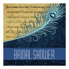Bridal shower invite  zazzle  timelesstreasure