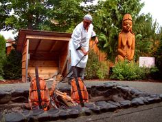 """For a truly Canadian feast, you have to try authentic First Nations cooking. Check out our blog for more on """"Feasting First Nations Style"""" at http://www.aboriginalbc.com/stories/feasting-first-nations-style/#"""