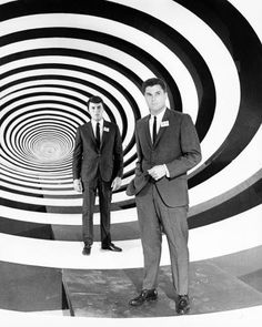 Robert Colbert and James Darren in The time tunnel (Irwin Allen, tv series 1966-67)