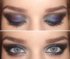 How To: A Peacock Inspired Eye with a Smokey Twist