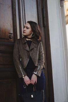 Suede Jacket | Fashion Blogger | Street Style | Alina Ermilova | Photography