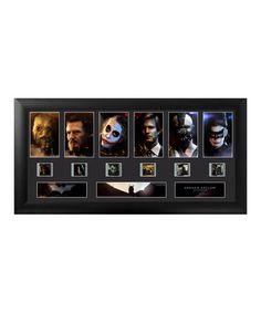 Look at this #zulilyfind! The Dark Knight Trilogy FilmCells™ Framed Wall Art #zulilyfinds