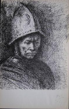 Pablo Picasso 14.1.56 Carnet de Californie Original Lithographie Mourlot Paris