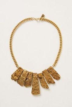 Fringe Bib Necklace that I MUST have