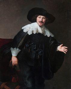 Sandalyeden Kalkmak Üzere Olan Adam, 1633, Taft Museum of Art, Cincinnati, ABD.