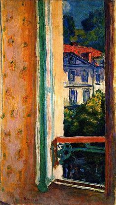 La fenêtre - Pierre Bonnard
