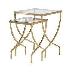 Set of 2 Curve Tables http://www.la-maison-chic.co.uk/Item/Set-of-2-Curve-Tables