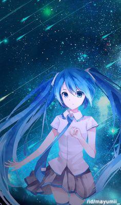 Hatsune Miku Animated Gif | Steams gemenskap :: :: 💙3142  👥5025 ~ Hatsune Miku / Blue Tranquility 🌟 ブルー・トランキリティ🌟