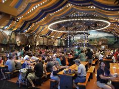 German beer hall. German beer hall versus Irish Pubs, for example, tend to be more well lit and communal. I like that.