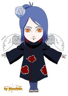 Render Chibi Konan by on DeviantArt Anime Naruto, Naruto Chibi, Manga Anime, Anime Akatsuki, Sasuke Sakura, Naruto Cute, Naruto Shippuden Sasuke, Naruto Kakashi, Naruto Girls
