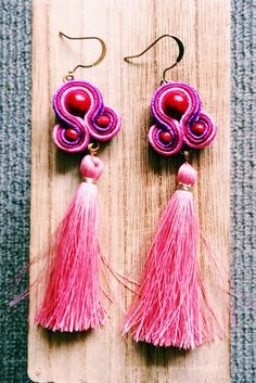 A personal favourite from my Etsy shop https://www.etsy.com/au/listing/469520886/blush-pink-tassel-boho-festival-earring