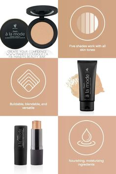 Touch a la mode luminizers By Younique Available March 1st 2017