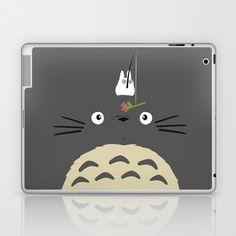 Cute Totoro Laptop & iPad Skin