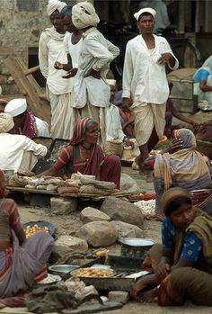 Aihole Market, in the Bagalkot district of Karnataka, India