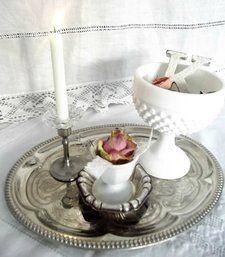Stilleben - Love in white and roses  #rosor #romantiskt #stilleben