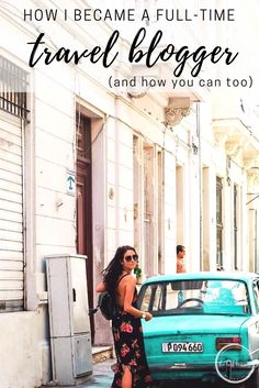 Here is the full story behind how I went from a 9 to 5 office job to traveling the world full time, and advice to help you do the same.