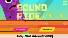 Sound Ride updates with new levels, new music, new obstacles, and chickens! #indiegames #videogames #gamesinitaly