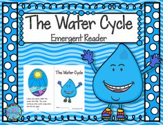 Water Cycle emergent reader will be a great addition to your book boxes! Included:8 page booklet in color and black and white Water Cycle.: Labeling Water Cycle: New Words Printable