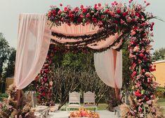 Wedding Trends, Wedding Styles, Wooden Teepee, Marriage Reception, Indian Wedding Decorations, Desi Wedding Decor, Wedding Mandap, Colourful Cushions, Mehendi