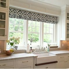My Favorite Part From The Install Might Be This Window Moment. That Fabric  Has My Heart Cabinetry By