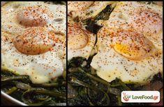 Τσιγαριστά χόρτα με αυγά ποσέ, με αγάπη από το Πήλιο. - LoveFood