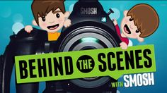 Behind the scenes with smosh! Logo