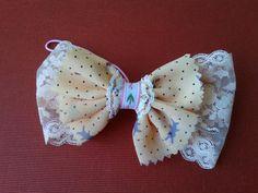 ribbon bow ponytail holder 137L
