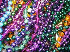 What are you going to do with all those mardi gras beads now?